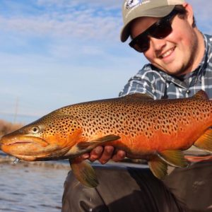 Stories on the Fly: Andrew Engel's quest for big browns to hook and shoot