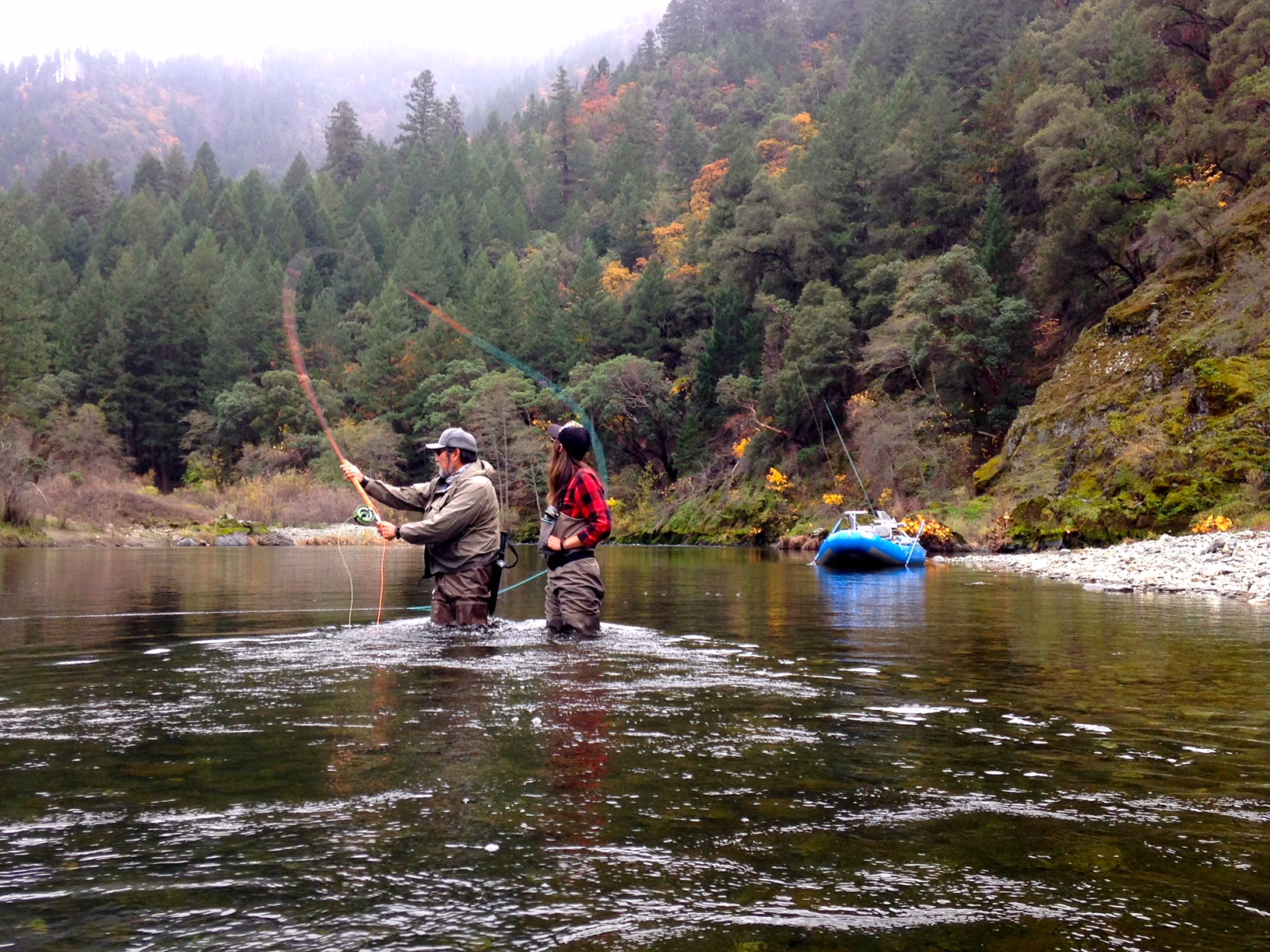 Gone Fishin' (for steelhead) with Leslie Ajari